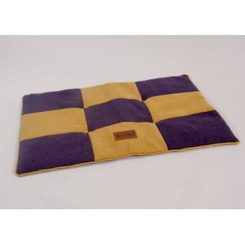 Katsu / Катсу KERN 100х80 см лежак для животных фиолетово-желтый