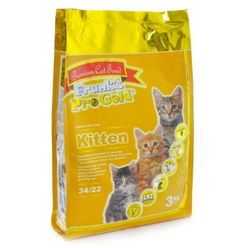 Frank's ProGold / Франкс ПроГолд для котят: Курица (Kitten 34/22) 3 кг