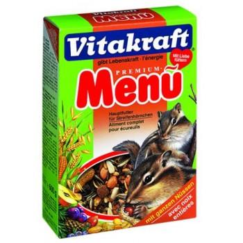 Vitakraft / Витакрафт Premium MENU Основ. корм для белок 600 г