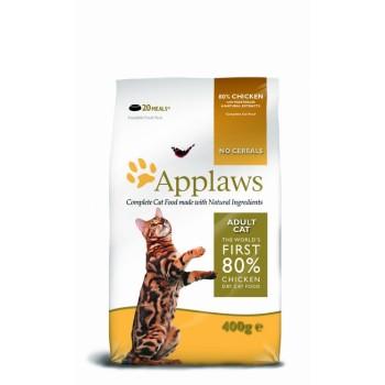 "Applaws / Эпплаус для кошек ""Курица/Овощи: 80/20%"" 0,4 кг"