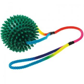 V.I.Pet Мяч массажный 10 см на шнуре 50 см 771050