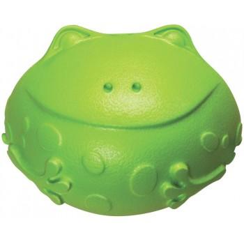 Kong / Конг игрушка для собак Tuff 'N Lite лягушка большая 12 см