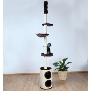 "Trixie / Трикси Домик д/кошек ""Linea"" коричневый высота 225-265см 43670"