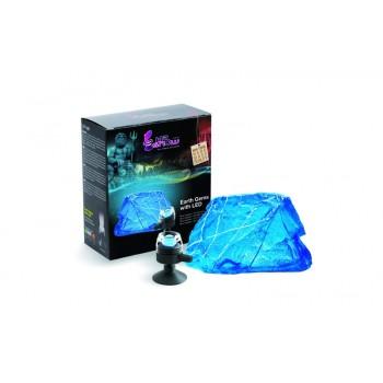 Hydor / Хидор H2SHOW декорация Синий Сапфир + синяя подсветка