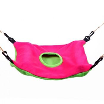 OSSO / ОССО Fashion Гамак для хорьков из флиса с карманом большой р-р 43*33 см, d 14 см Их-1003