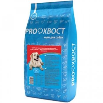 ProХвост для собак с высокой активностью, пм с эт., 10 кг