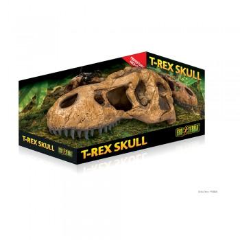 Exo Terra / Экзо Терра Убежище-декор Череп тираннозавра Рекса 22х8х9.5 см. PT2859