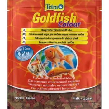 TetraGoldfish / Тетра Colour корм в хлопьях для улучшения окраса золотых рыб 12 г (sachet)