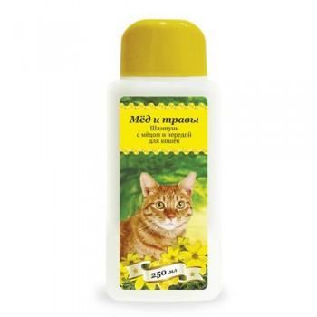 Пчелодар Шампунь с прополисом для длинношерстных кошек 250 мл