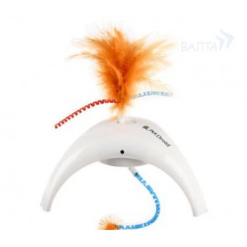 GIGWI 75312 электронная игрушка для кошек PET DROID, ФЕЗЕР СПИННЕР