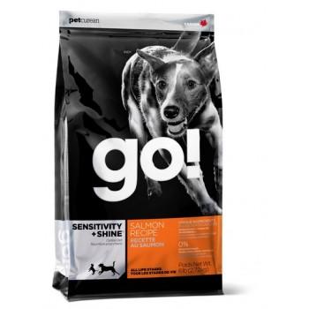 Go! / Гоу! Для щенков и Собак со свежим Лососем и овсянкой 11,35 кг