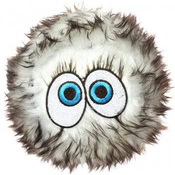 Silly Squeakers Игрушка-пищалка для собак Пушистый мяч с глазами большой, коричневый (iBall Large Brown) SS-IB-L-BR