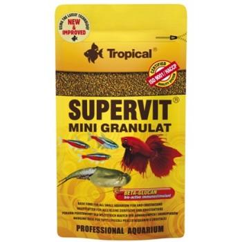 Tropical / Тропикал 614211/85899 корм для малых декоративных рыб и ракообразных (гранулы) Supervit Mini Granulat 10гр