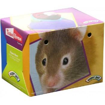 "Super Pet Переноска ""Т-Н В"" д/грыз., картон, 10,2х7,6х7,6 см 99300/1"