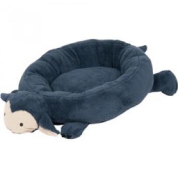 Petmate / Петмейт Лежак для кошек и мелких собак, с круглыми мягкими бортиками и мягкой головой, овальный, 64х46х15 (см)