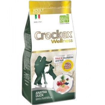 CROCKEX / КРОКЕКС Wellness сухой корм для собак мелких пород 2 кг утка с рисом MCF2802