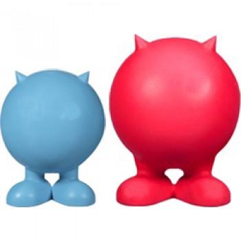 JW Игрушка д/собак - Мяч на ножках с рожками, каучук, средняя Bad Cuz, medium (43168)