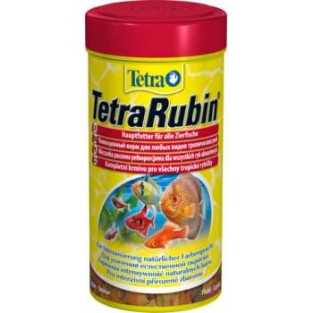 TetraRubin / Тетра корм в хлопьях для улучшения окраса всех видов рыб 250 мл