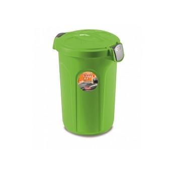 Stefanplast / Стефанпласт Контейнер Jerry для 8кг корма, 37*32*36см, ярко зеленый (70303)