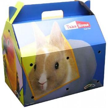 "Super Pet Переноска ""Т-Н В"" д/грыз., картон, 27,5х18,5х22,3 см 99050/1"
