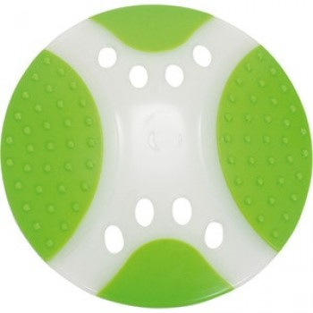"""Игрушка """"Грызлик Ам"""" Тарелка летающая Frisbee Dental Nylon Размер 17 см, Цвет Зеленый, Материал Нейлон"""