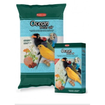 Padovan / Падован Ocean Fresh Air Био-песок д/всех видов птиц 5кг