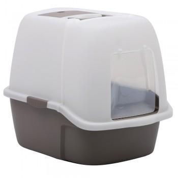 Petmode Туалет-домик Solitude Range 51х38х43, темно-серый
