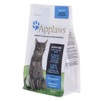 Applaws / Эпплаус Беззерновой для кошек с Океанической рыбой 1,8 кг