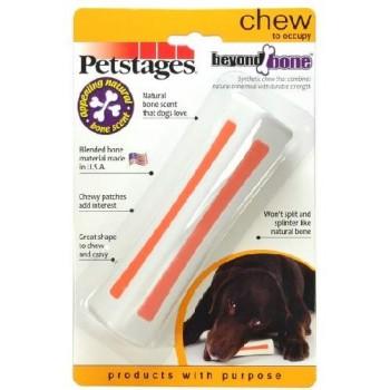Petstages / Петстейджес игрушка для собак Beyond Bone, с ароматом косточки 14 см средняя