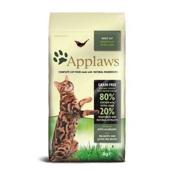 "Applaws / Эпплаус для кошек ""Курица и ягненок 80/20%"" 2 кг"
