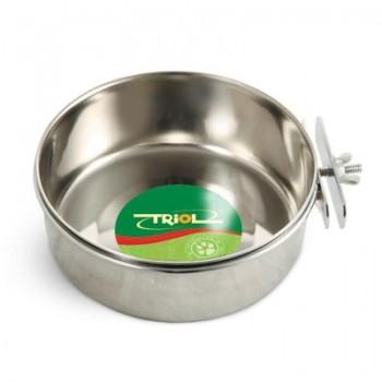 Triol / Триол Миска 77630 металлическая с держателем, 0,55л