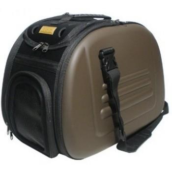 Ibbiyaya складная сумка-переноска для собак и кошек до 6 кг коричневая