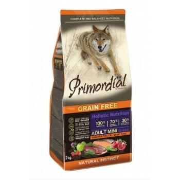 PRIMORDIAL / ПРИМОРДИАЛ Корм сух для собак мелких пород б/зерн.форель утка 2 кг