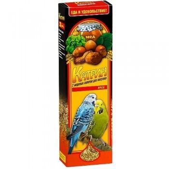 Катрин 2103 Палочки д/волнистых попугаев Орех 2шт