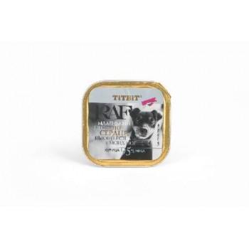 TitBit / ТитБит Консервы для собак RAF Курица 100 г - ламистер