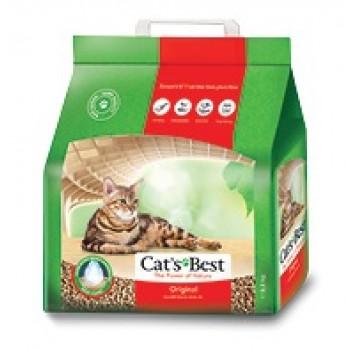 Наполнитель Cat's Best Original 5л*2,3 кг Древесный комкующийся