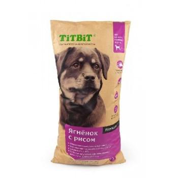 TitBit / ТитБит Корм сухой для щенков крупных пород ягненок с рисом 13 кг