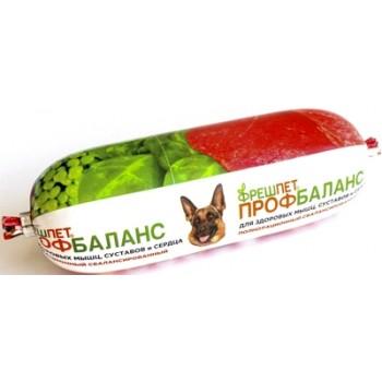 Фрешпет Профбаланс кон.д/собак Мясной ролл с говядиной, сердцем и гречкой 400г