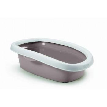 Stefanplast / Стефанпласт Туалет Sprint-20 с рамкой, пудровый, 39*58*17 см