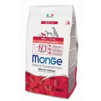Monge / Монж Dog Mini корм для щенков мелких пород 800г