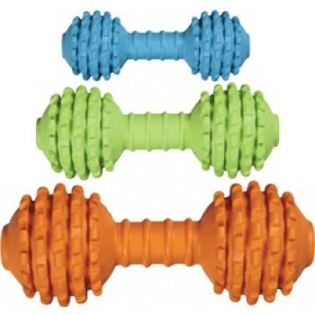 JW Игрушка д/собак - Гантель с шипами, каучук, маленькая Chompion, Lightweight (43024)