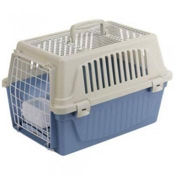 Ferplast / Ферпласт Переноска ATLAS 10 OPEN (с ковриком и поилкой) для кошек и собак