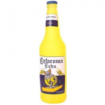 "Silly Squeakers Виниловая игрушка-пищалка для собак Бутылка пива ""Кошачий аромат"" (Beer Bottle Cataroma) SS-BB-CA"