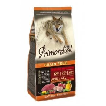PRIMORDIAL / ПРИМОРДИАЛ Корм сух для собак б/зерн.буйвол макрель 2 кг