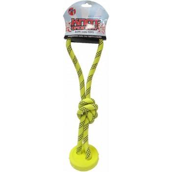 """R2P игрушка для собак Ordinary Knots """"Канат с мячиком и петлей"""""""