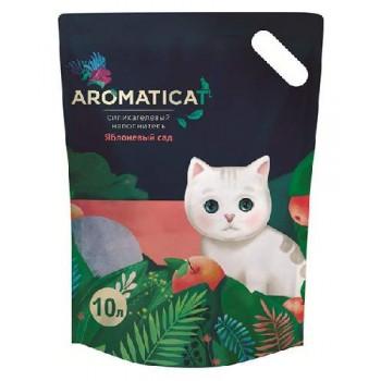 """AromatiCat / АроматиКэт Силикагелевый наполнитель """"AromatiCat"""" 10л. Яблоневый сад"""