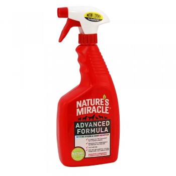8in1 уничтожитель пятен и запахов от кошек NM JFC Advanced Formula с усиленной формулой спрей 710 мл