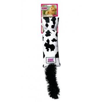 """Kong / Конг игрушка для кошек """"Кикеру"""" буренка цвета с кошачьей мятой"""