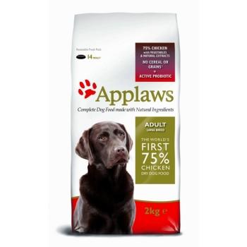 "Applaws / Эпплаус для Собак крупных пород ""Курица/Овощи: 75/25%"" 2 кг"
