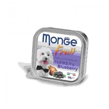 Monge / Монж Dog Fruit консервы для собак индейка с черникой 100г